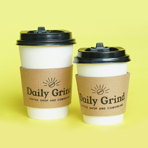 Doppio and Solo-sized Hot Americano from Daily Grind Coffee Shop