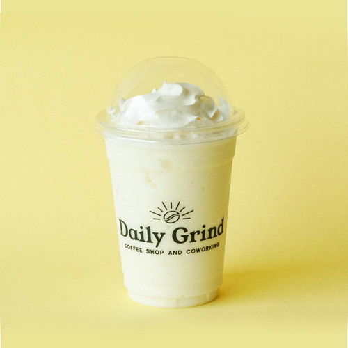 Madagascar Vanilla Frappe from Daily Grind Coffee Shop