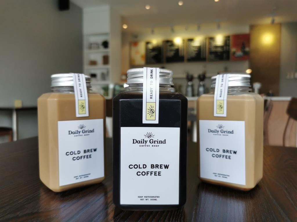 Daily Grind cold brew coffee