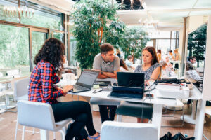 ergonomic coworking space